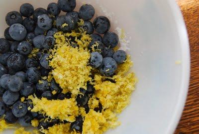 Blue Eyed Yonder Lemon Blueberry Pound Cake Vintage Event Rentals