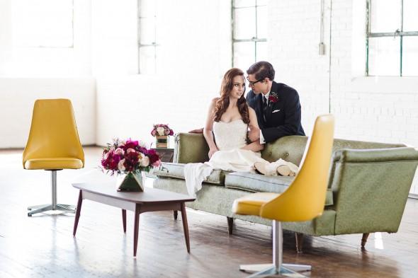 Mid-Century Mod Wedding